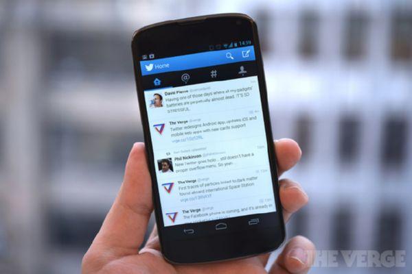 Bug pada Update Terbaru Twitter for Android - Sabar Ya