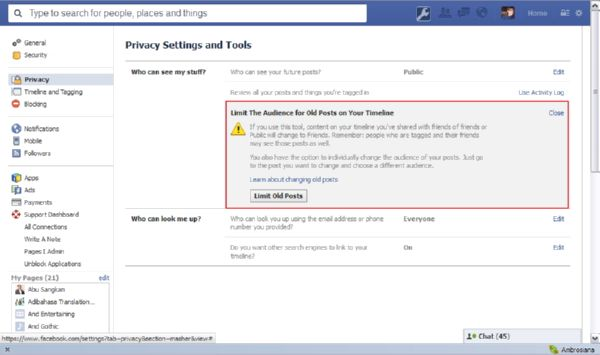 Tips Melindungi Privasi Post Facebook Kamu
