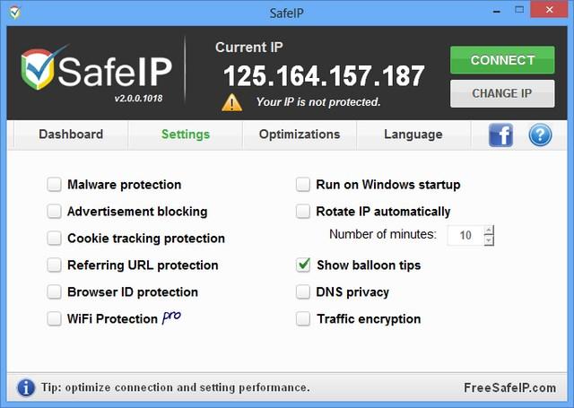 Menyembunyikan IP Asli dan Mengakses Situs yang Diblokir dengan SafeIP