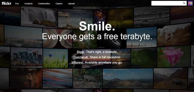 Dapatkan 1TB Storage Gratis dari Flickr!