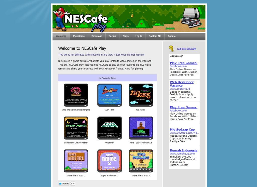 Situs Penyedia Game Nitendo yang Bisa Kamu Mainkan di PC