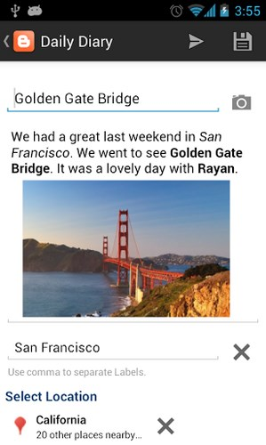 Cara untuk Blogging Menggunakan Android