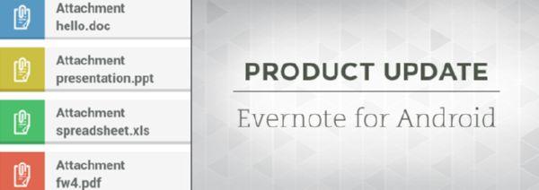 Update Evernote for Android: Apa saja yang Baru?
