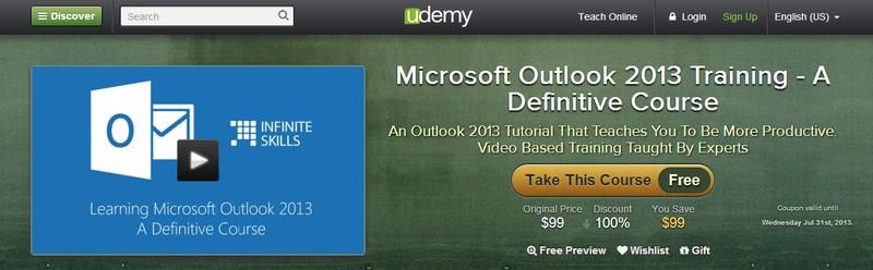 Dapatkan Microsoft Outlook 2013 Training Senilai 1 Juta Rupiah