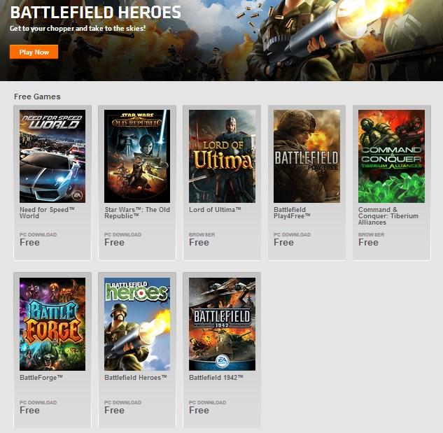 8 Game Premium (Need for Speed, Battlefield, dsb) yang Bisa Dimainkan Secara Gratis