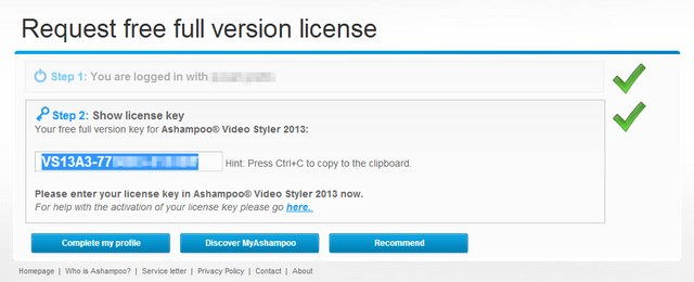 Dapatkan Lisensi Ashampoo Video Styler 2013 (Giveaway)