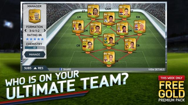 Game FIFA 14 Sudah Hadir di Android dan dapat Didownload Gratis
