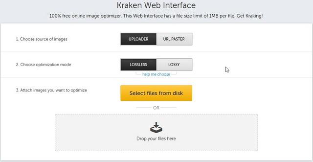 Cara Memperkecil Ukuran File Foto dengan Kraken