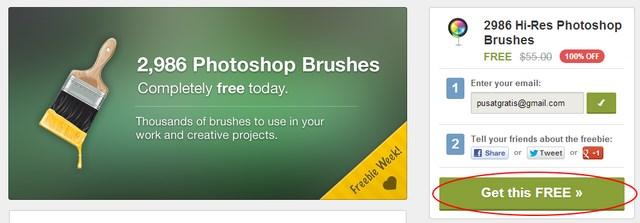 Download Brush Photoshop: 2986 Brush Photoshop Beresolusi Tinggi Senilai $55