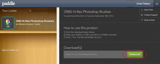 Download Brush Photoshop: 2986 Brush Photoshop Beresolusi Tinggi Senilai $55