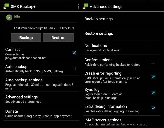 Cara Backup SMS Android Dengan Aplikasi Gratis