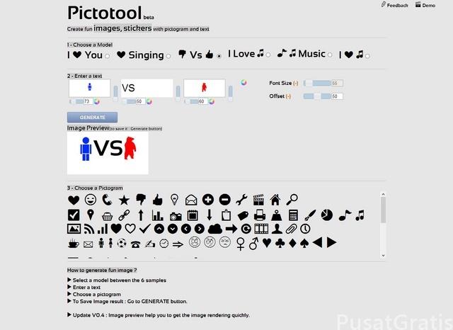 Cara Membuat Gambar Lucu Secara Online dengan Pictotool