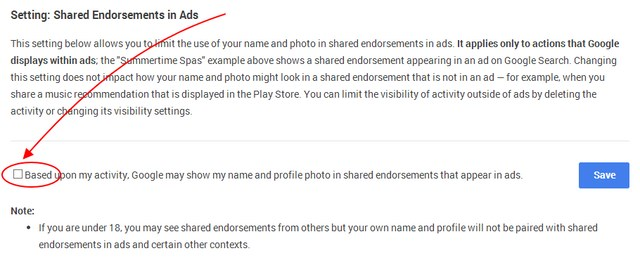 Penting: Jangan Biarkan Nama dan Foto Kamu Terpasang di Iklan Google!
