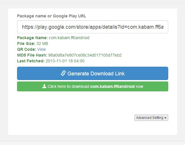 Download Aplikasi Android dengan Mudah Menggunakan APK Downloader