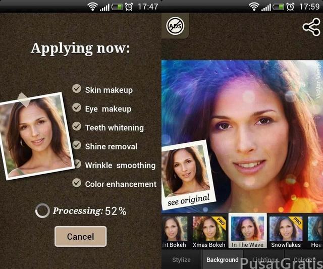 Download 5 Aplikasi Make Up Wajah Android Gratis