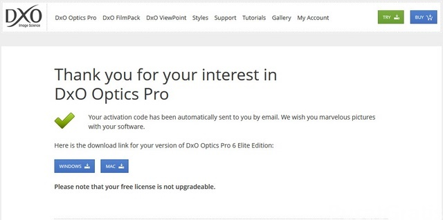Dapatkan Lisensi DxO Optics Pro 6.6 Seharga Rp. 3 juta