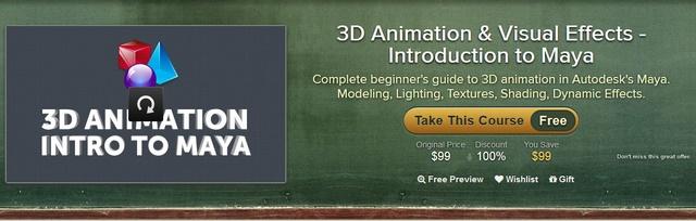 Dapatkan Panduan Membuat 3D Animation & Visual Effects dengan Autodesk Maya