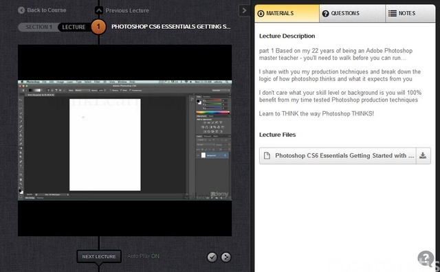 Dapatkan Video Panduan Photoshop CS6 Seharga Rp. 1 juta