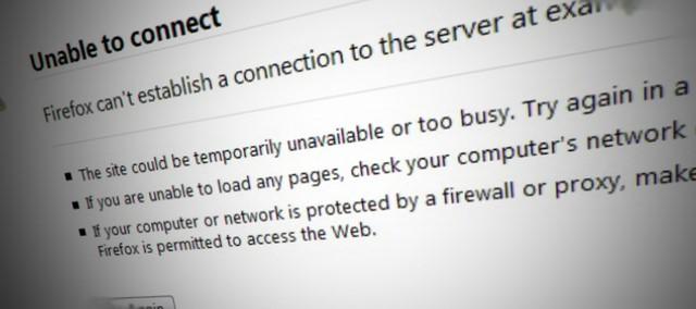 Situsnya yang Down atau ISP-nya yang Error..??