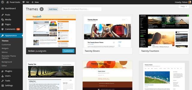 WordPress 3.8 Sudah Dirilis dengan Desain Responsive dan Tampilan Baru (+ Theme Senilai $150)