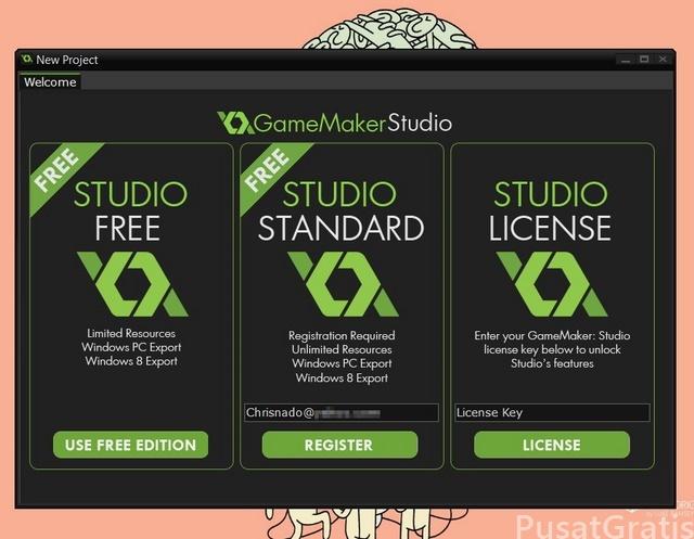 Dapatkan Gratis Software Pembuat Game: GameMaker Studio: Standard Edition (Seharga $50)