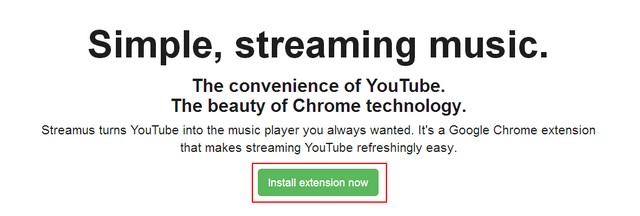 Menjadikan YouTube Sebagai Music Player dengan Streamus
