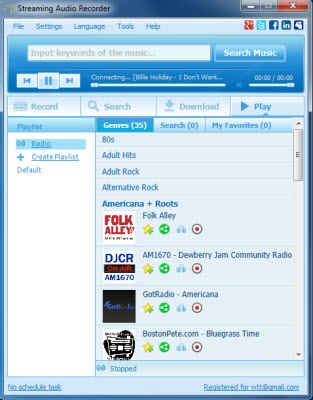 Dapatkan Gratis Apowersoft Streaming Audio Recorder Seharga $39.95