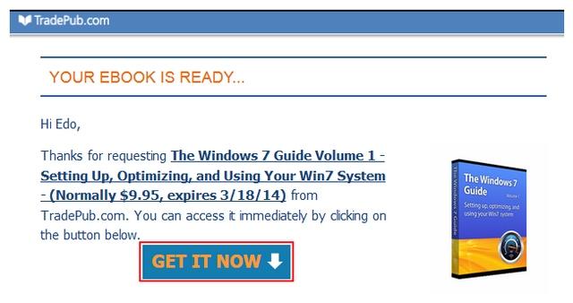 Download Panduan Windows 7 Senilai $9.95 Secara Gratis (Hari Ini Saja!)