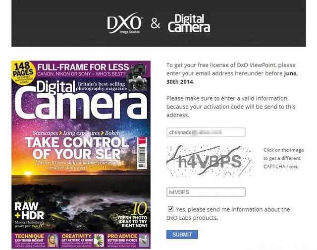 Cara Gratis Mendapatkan DxO ViewPoint