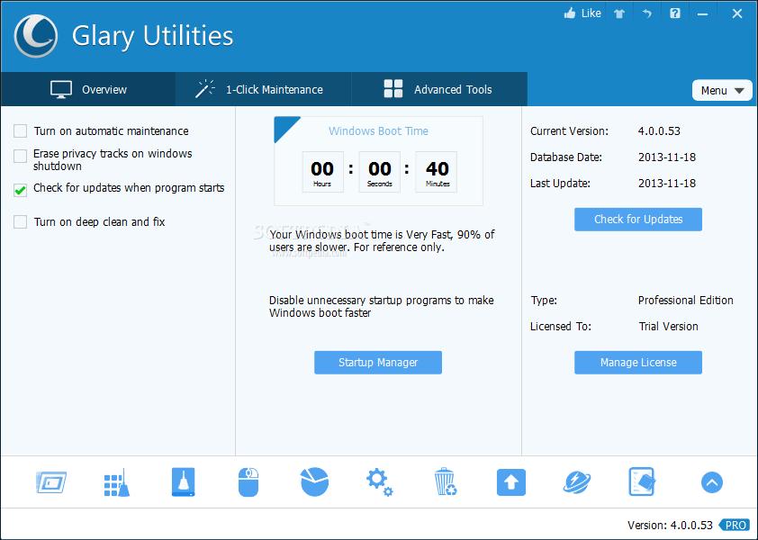 Cara Mendapatkan Glary Utilities Pro Secara Gratis