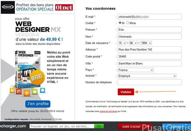 Cara Membuat Web Dengan Mudah Menggunakan Giveaway Xara Web Designer Mx V8
