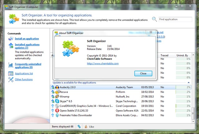 Dapatkan Lisensi Soft Organizer, Software Uninstaller Senilai 345 Ribu