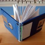 Karya Luar Bisa dari Benda Bekas Floppy Disk