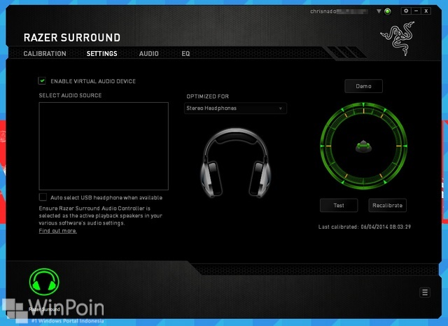 Download Gratis Razer Surround 7.1