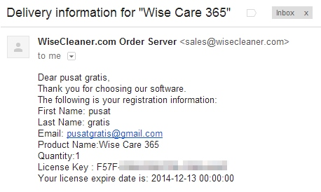Dapatkan Lisensi Wise Care 365 Pro Secara Gratis dan Legal (Senilai $39.95)
