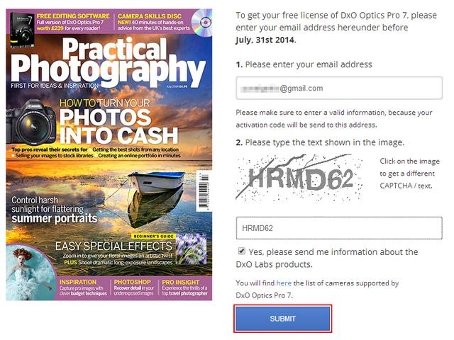 Dapatkan Lisensi Software Foto Editor DxO Optics Pro 7 Senilai $299