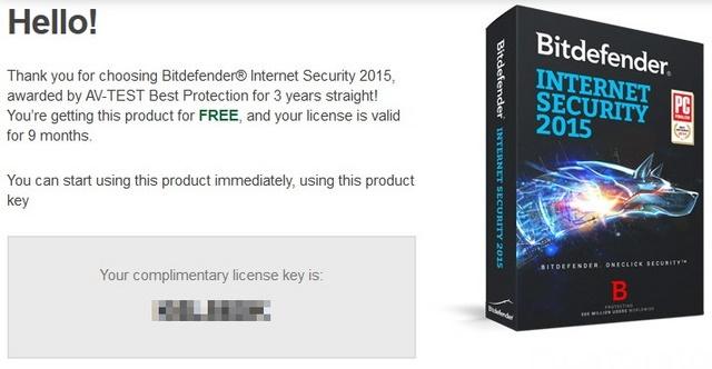 Dapatkan Software Gratis Bitdefender Internet Security 2015