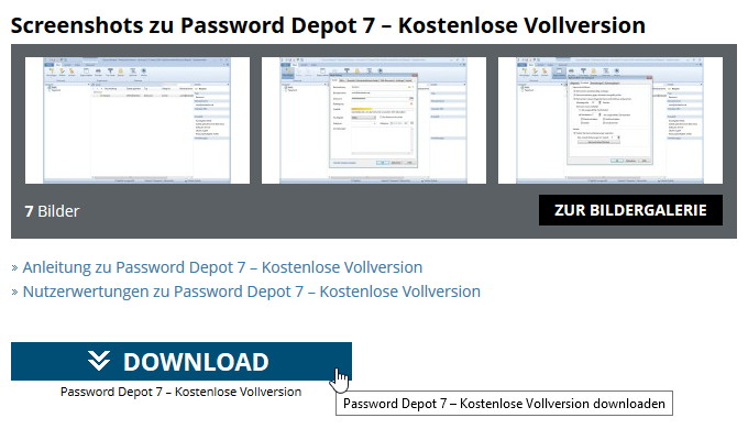Download Gratis Software Password Depot 7