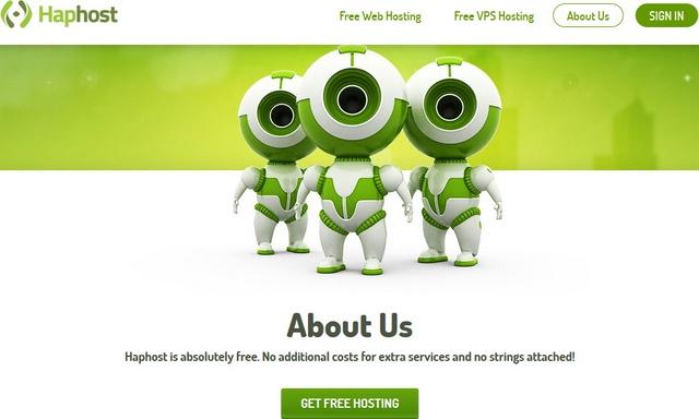 Dapatkan Web dan VPS Hosting Gratis dari Haphost