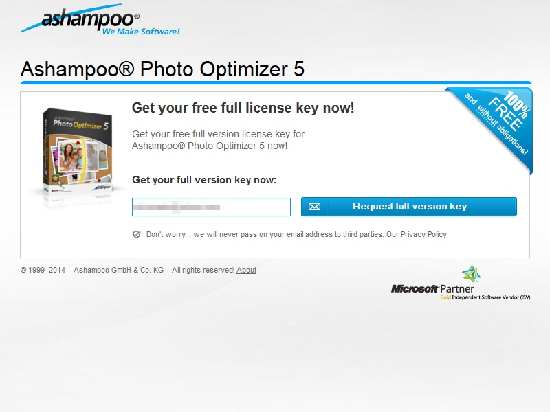 Giveaway Ashampoo Photo Optimizer 5