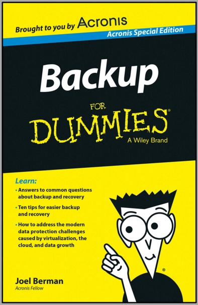 Download Gratis eBook Backup for Dummies Senilai 364 Ribu!