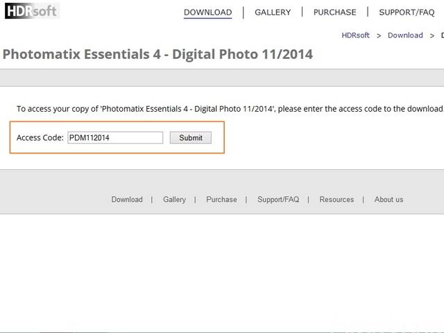 Dapatkan Giveaway Photomatix Essentials 4