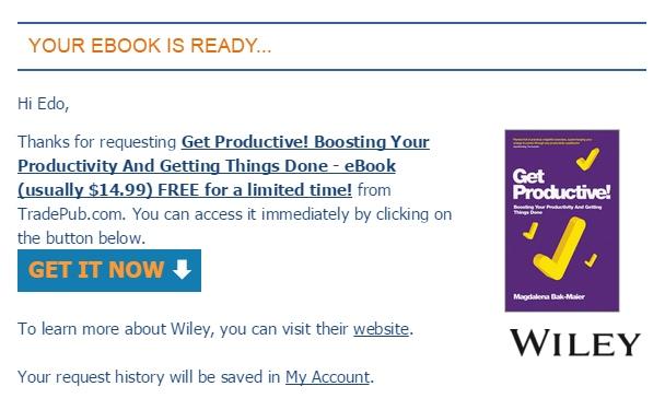 24 Jam Sehari Terasa Kurang? Inilah Rahasia Menjadi Super Produktif! (Ebook)