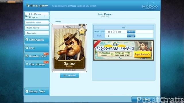 Game ModooMarble: LINE Let's Get Rich untuk PC atau Laptop