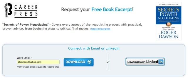 Dapatkan Ebook Rahasia Menang Negosiasi Senilai 127 Ribu (Gratis!)
