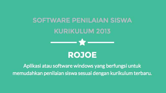 Terbatas: Gratis Software Penilaian Siswa Kurikulum 2013!