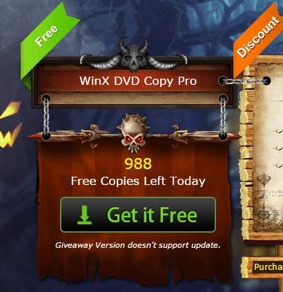Dapatkan 1000 Lisensi WinX DVD Copy Pro Setiap Hari