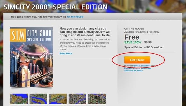 Dapatkan Game SimCity 2000 Special Edition Gratis! (Senilai 86rb)
