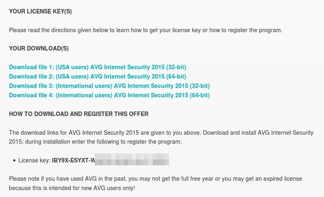 Download AVG Internet Security 2015 Senilai 688rb Secara Gratis dan Legal