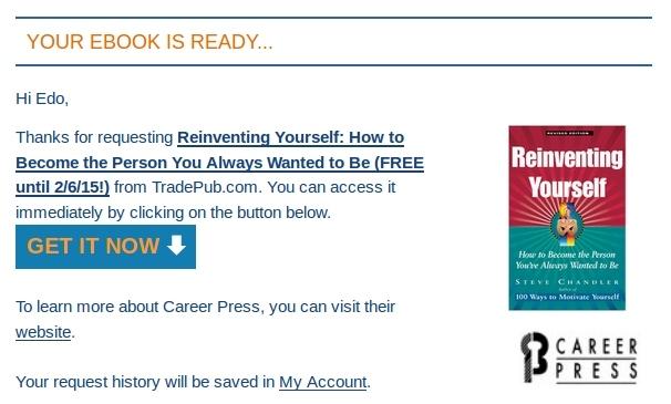 Terbatas: Inilah Rahasia Menjadi Pribadi yang Kamu Impikan (Ebook Senilai 183rb)